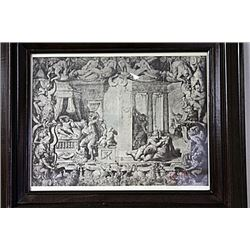 Framed Engraving (54E-EK)