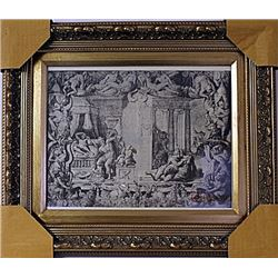 Framed Engraving (70E-EK)
