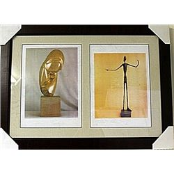 Framed 2-in-1 Lithographs (87E-EK)