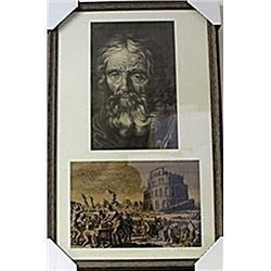 Framed Lithographs (143E-EK)