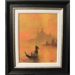 """""""VENICE AT SUNSET"""" By KELLY, John (N)"""