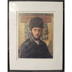 """YOUNG RABBI"" By ISIDOR KAUFMAN (N)"