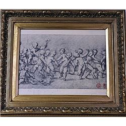 Framed Engraving (22E-EK)