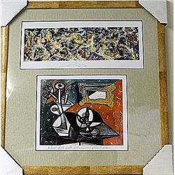 Framed 2-in-1 Lithographs (79E-EK)