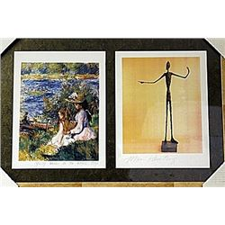 Framed 2-in-1 Lithographs (91E-EK)