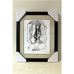 Untitled Lithograph By Pablo Picasso. (260E-EK)