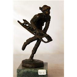 Down the Hill - Bronze Sculpture - after Dennis Smith