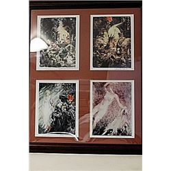 Framed 4-in-1 Louis Icart Lithographs (212E-EK)