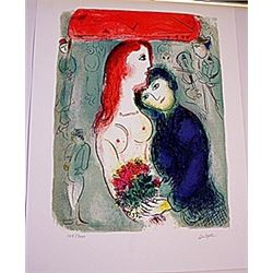 Lithograph  Marc Chagall