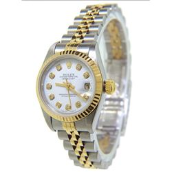 Women's DateJust 18K Gold Rolex