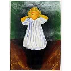 The Child - Edvard Munch