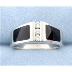 Diamond and Onyx band