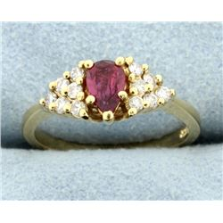 Ruby & Diamond Ring