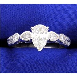 1.12 carat diamond ring