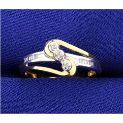 Diamond Fashion 10k Ring