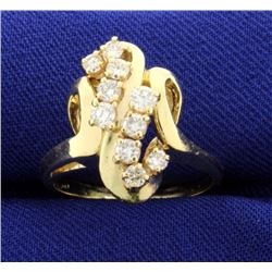 3/4 Carat Diamond 14k Ring