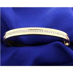 2 ct. Diamond Bangle Bracelet