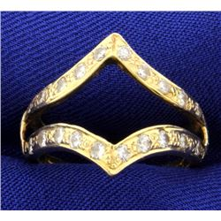 .6ct Total Weight Diamond Ring Jacket