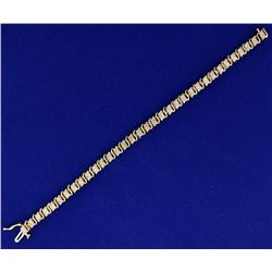 1ct TW Diamond Bracelet