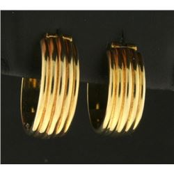 Italian Made Hoop Earrings