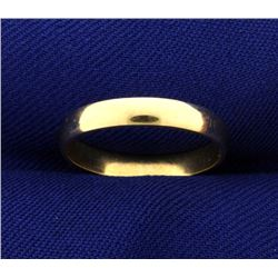 Woman's 3mm Wedding Band