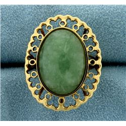 Large Jade Ring