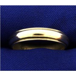 Men's 5mm Wedding Band Ring
