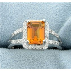 Azotic Topaz Ring