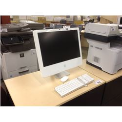 """APPLE IMAC 24"""" COMPUTER WITH KEYBOARD AND MOUSE"""
