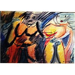 Willem De Kooning - Two Woman VII