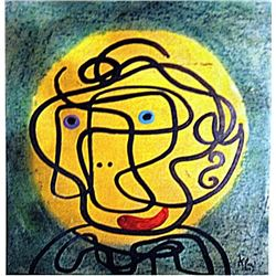 Paul Klee - Portrait of a Woman