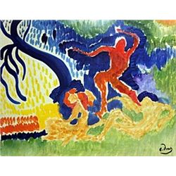 Characters on the Forest - Andre Derain