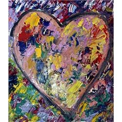 Jim Dine - My Heart II