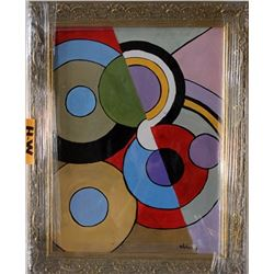 Oil on Paper R. Delaunay