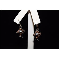 Stunning Chic Silver Earrings (20E)