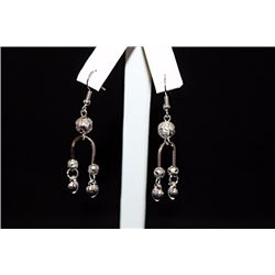 Lavish Chic Silver Earrings (28E)