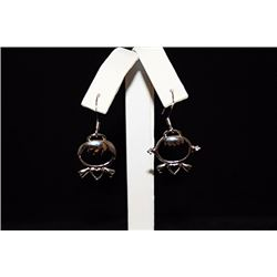 Lady's Fancy Designer Silver Earrings (71E)