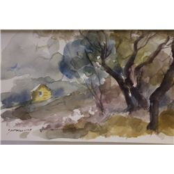 """""""YELLOW HOUSE IN THE DISTANCE""""  BY MICHAEL SCHOFIELD"""