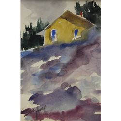 """LONE HOUSE II""  BY MICHEL SCHOFIELD"