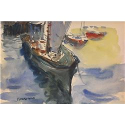 """""""SAILS AWAY""""  BY JAMES SESSIONS"""
