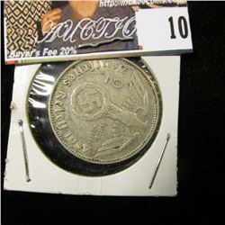 1937J Germany Silver Two Marks, VF+.