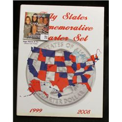 "Marcus & Co. ""Fifty States Commemoratives Quarter Set"" Folder with the first 31 State Quarters, all"