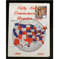 "Marcus & Co. ""Fifty States Commemoratives Quarter Set"" Folder with the first 29 State Quarters, all"