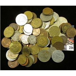 (81) Unsorted Foreign Coins.