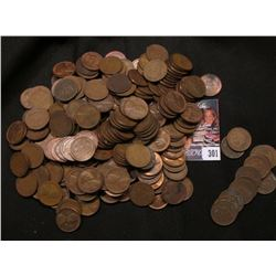 (228) unsorted Lincoln Cents, most of which are Wheat Cents; & (13) Indian Head Cents.