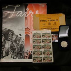 """""""1939 New York - World Fair"""" Original issue of """"Travelers"""" with articles such as """"Fairs Past & Prese"""