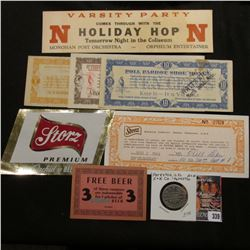 "1920 era ""Varsity Party Comes Through With The N Holiday Hop N Tomorrow Night in the Coliseum Monoha"