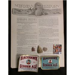 """1919 era """"Nebraska History and Record of Pioneer Days"""" includes a large article on the """"Ancient Pawn"""