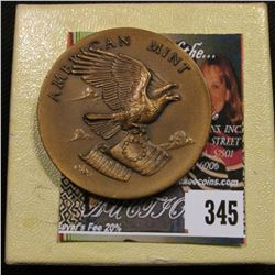 """American Mint"", Bronze Medal minted by the Medallic Art Co., New York, reverse ""American Mint Assoc"
