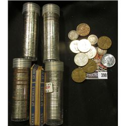 Over 200 Canada Nickels, which I have not checked for dates. In plastic tubes. Various grades. Inclu